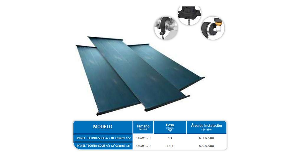 COLECTOR SOLAR TÉRMICO para climatización de PISCINAS