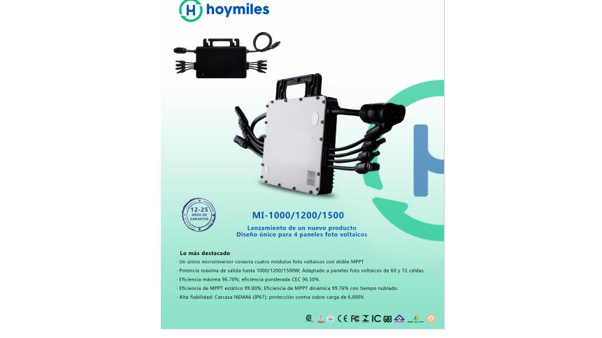 1500W Microinversor Hoymiles de 1500W 220V MI-1500