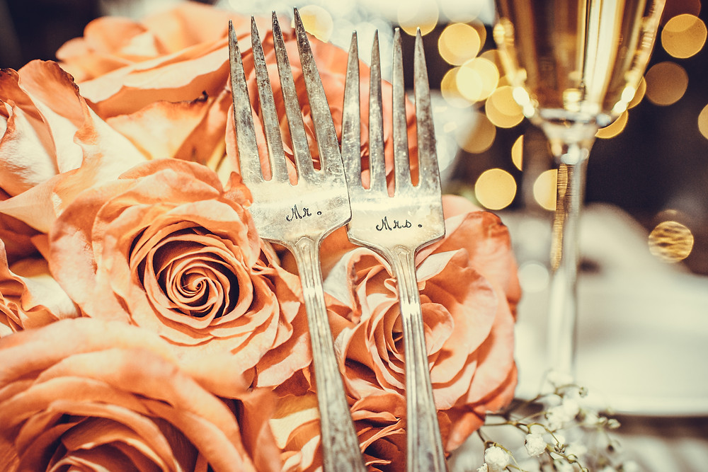 Roses, Forks & Champage