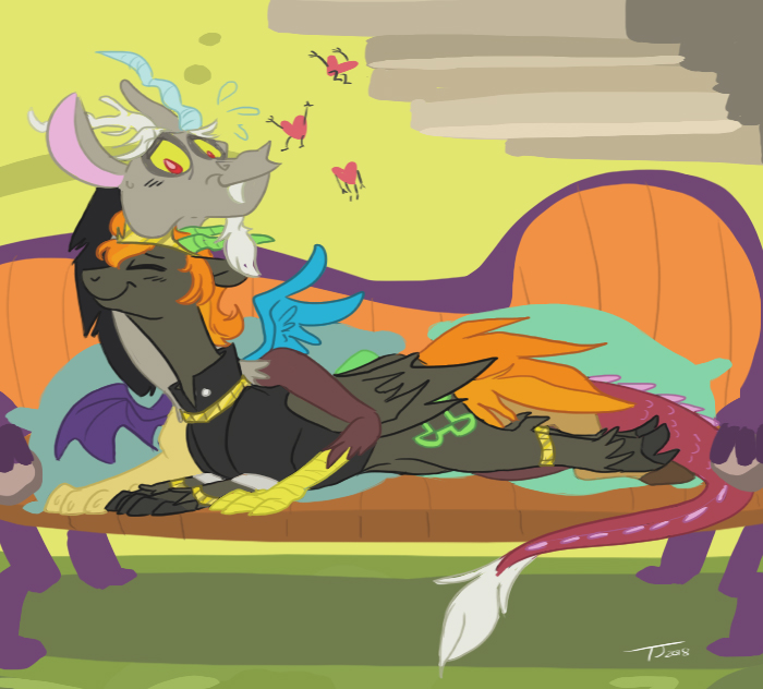 Discord and Prince Pony
