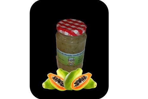 Doce de mamão verde com coco 380g