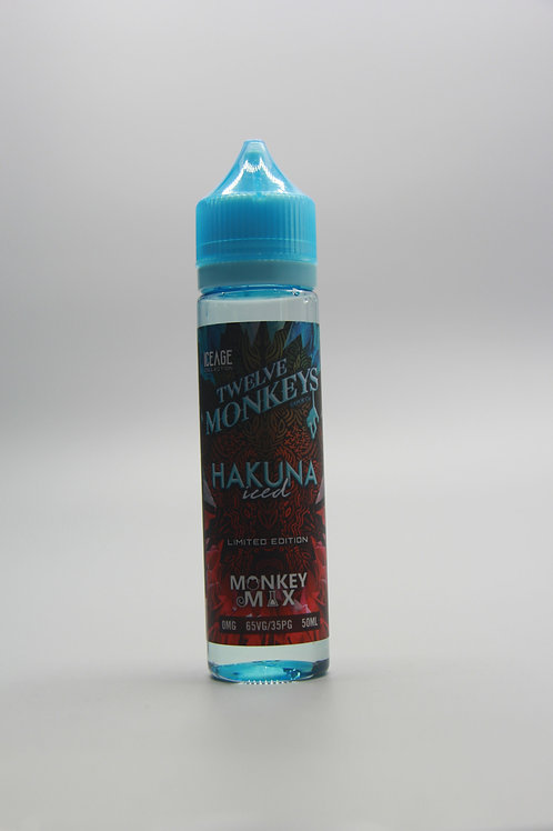 Twelve Monkeys Liquid - Hakuna iced