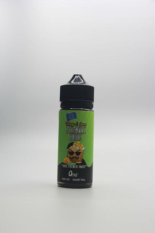 Vape Breakfast Liquid - Mango and Cream French Dude