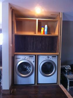 washer dryer nook