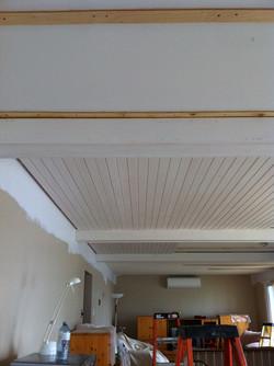 start of beam ceiling