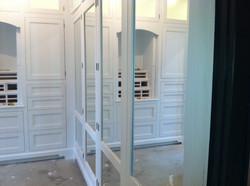 closet painted white