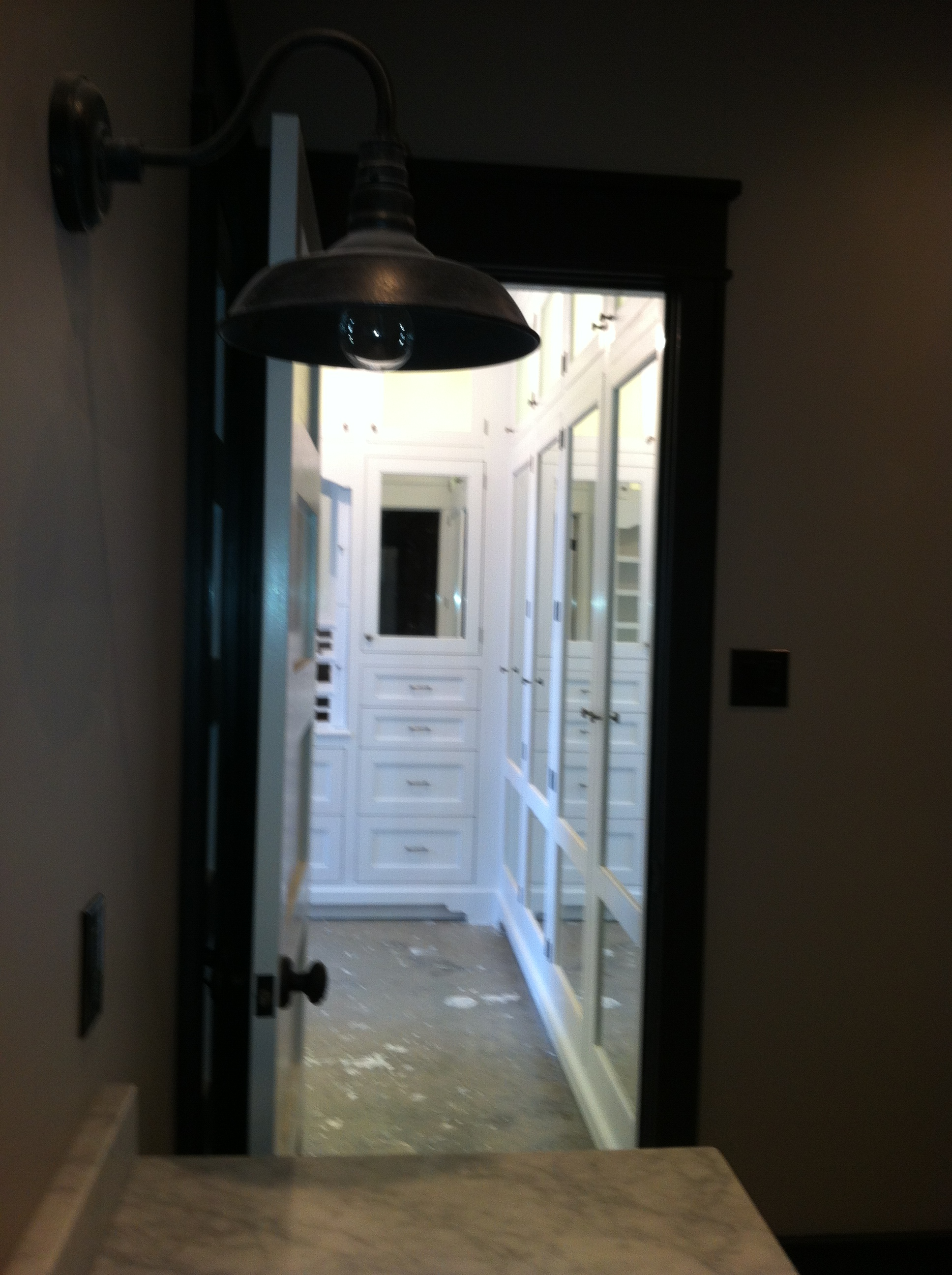 closet entrance