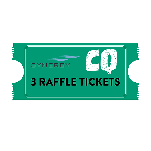 RAFFLE TICKET - 3 TICKETS