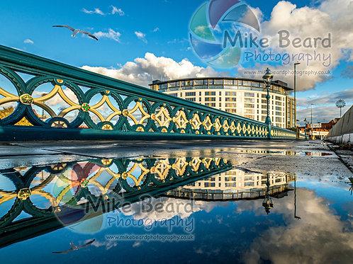TRENT BRIDGE REFLECTION