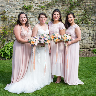 Emilie and her bridesmaids