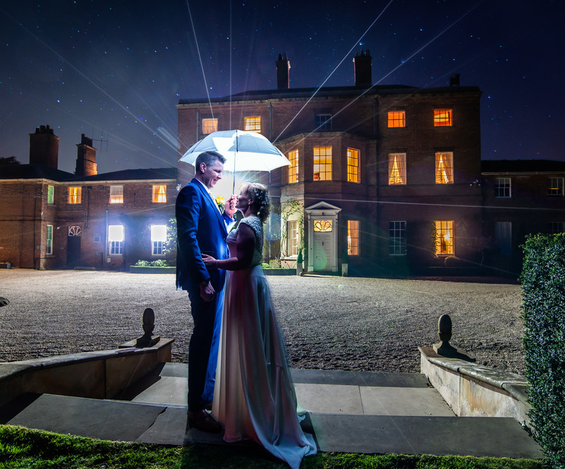 Kirstin and Michael under the stars