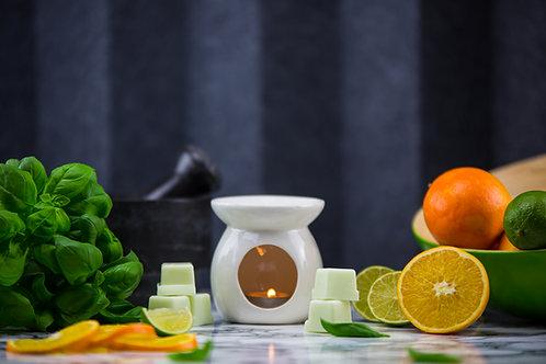 80g Wax Melt - Lime, Basil & Mandarin