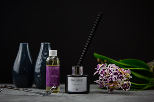 100ml Reed Diffuser REFILL - Black Orchid
