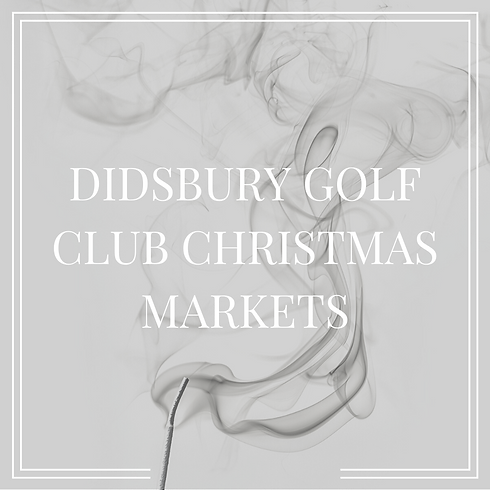 Didsbury Golf Club Christmas Markets