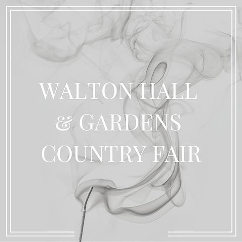 Walton Hall & Garden Country Fair
