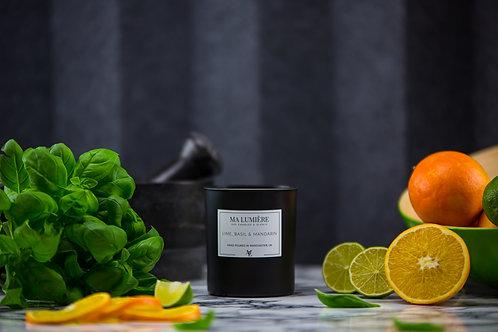 Soy Candle - Lime, Basil & Mandarin