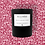 Thumbnail: 30cl Soy Candle - Peony & Blush Suede