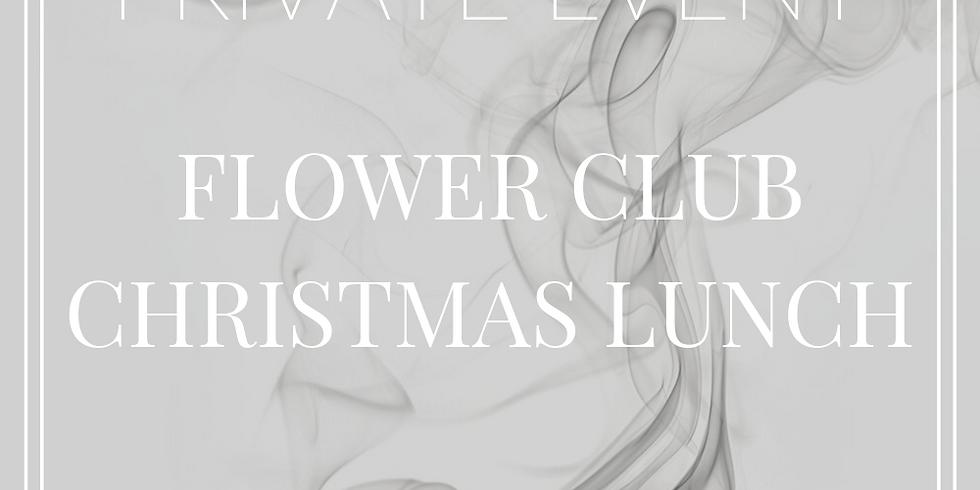 Flower Club Christmas Lunch
