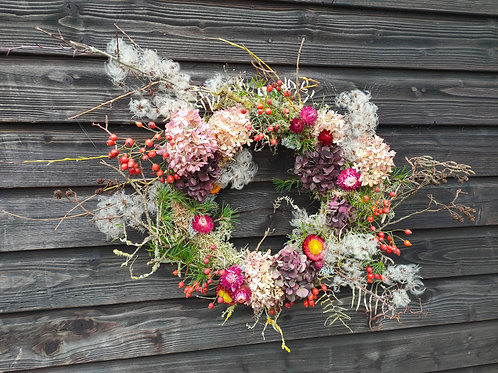 'The Ruby' Christmas wreath