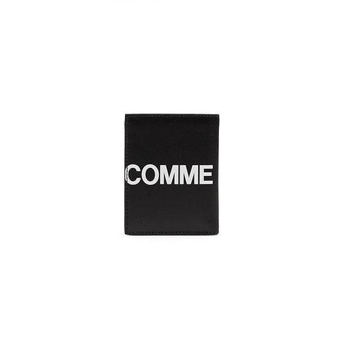 CDG Huge Logo Wallet - Black