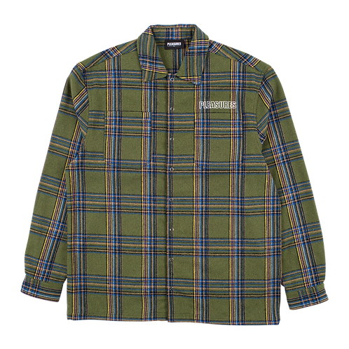 Pleasures Widow Heavyweight Flannel