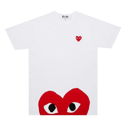 Red PLAY Comme des Garçons T-Shirt