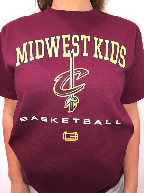Midwest Kids x Ultra Game Cleveland Cavs Tee