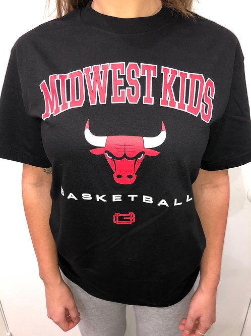 MIdwest Kids x Ultra Game Chicago Bulls Tee