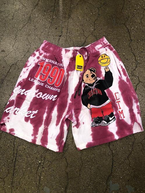 Chinatown Market Varsity Bear Shorts