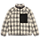 Thumbnail: Pleasures Wraith Poodle Polar Fleece Jacket