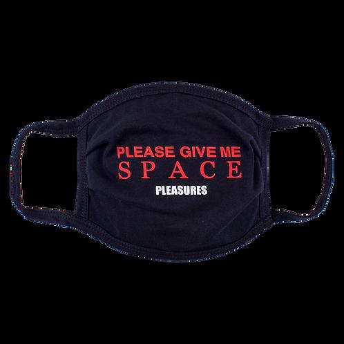 Pleasures Space Face Mask