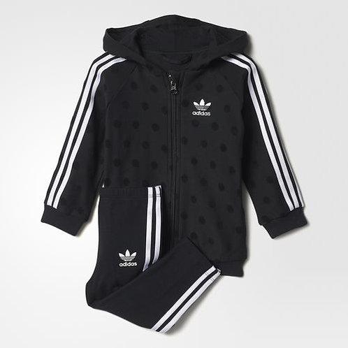 infant trefoil hoodie set