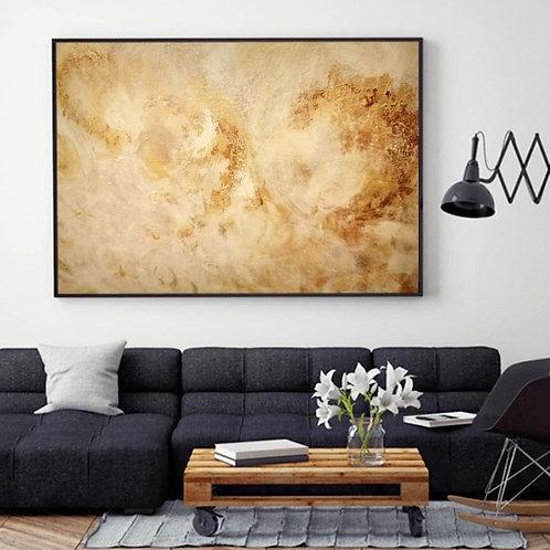 When The Sun Loved The Moon 140 x 100 cm oil on canvas