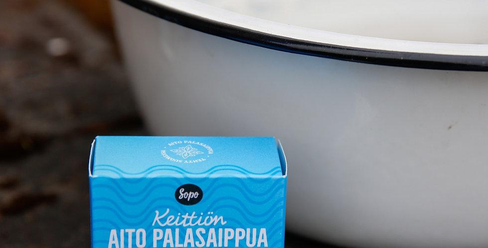 Keittiön Hajusteeton Aito Raakapalasaippua 100g