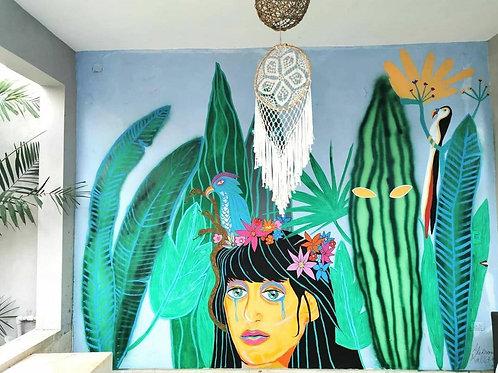 Custom Made Mural wall painting