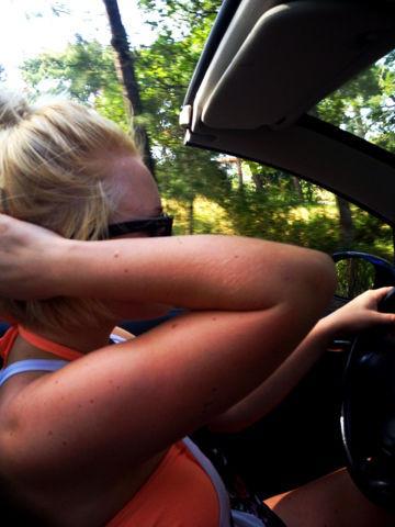 Vuokrasin Cabrion pariksi päiväksi ja kiersin Rodoksen ympäri.