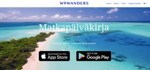 Lataa Wowanders - Maailman älykkäin matkapäiväkirja klikkaamalla tätä kuvaa.