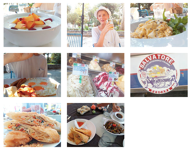 During our stay in Budva, we didn't really have any bad food experiences.