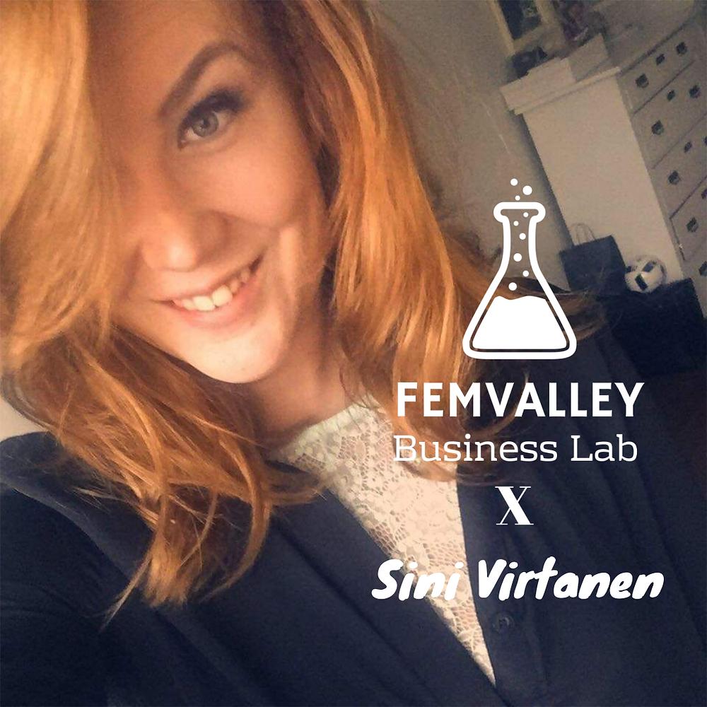 Sini Virtanen on Kauneushoitolaketju Blue Lagoonin perustaja ja omistaja.