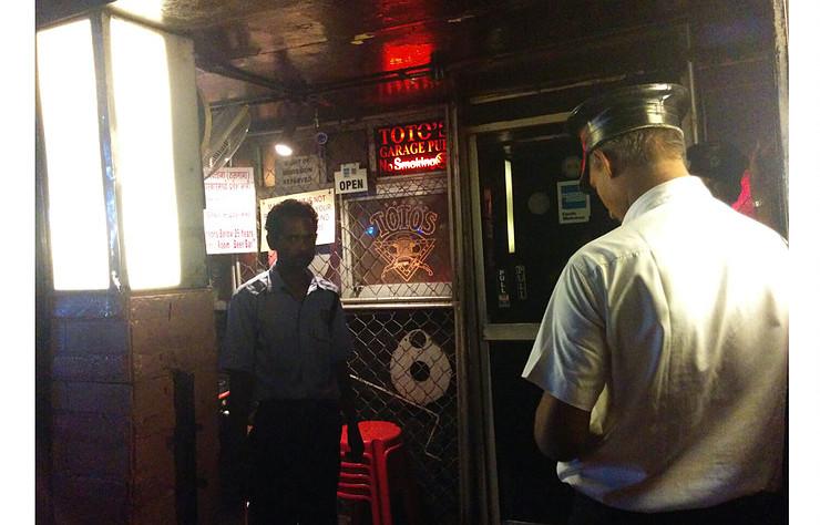A bar tour in Mumbai: Toto's Garage