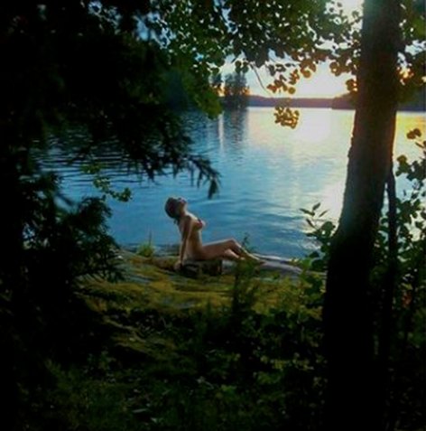 Kaipasin Suomen luontoa. Haaveeni oli herätä joka aamu katsoen Itämerta.