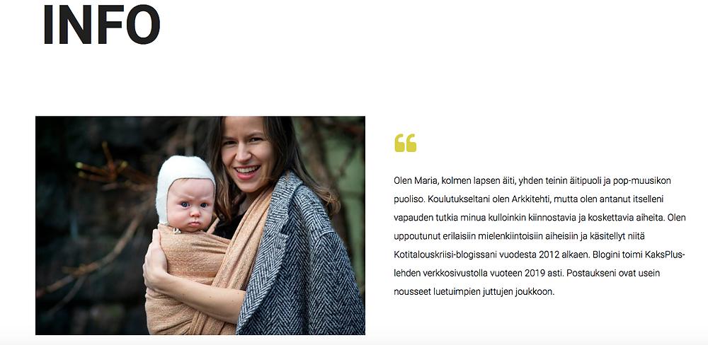 Maria Nordinin blogi