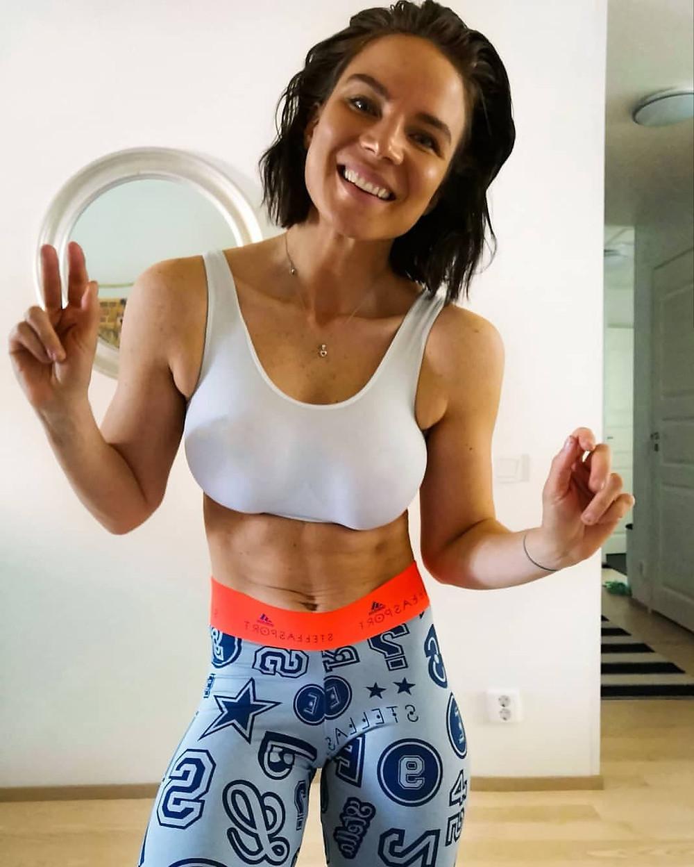 Katin henkilökohtainen Instagram-profiili tarjoilee treeni-inspiraatiota ja positiivista energiaa.