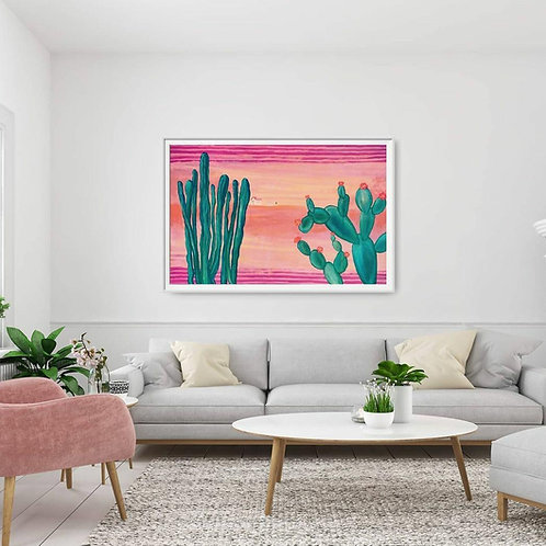 Ocurrió una vez en la hacienda Oil and Acrylic on Canvas 140 x 100 cm