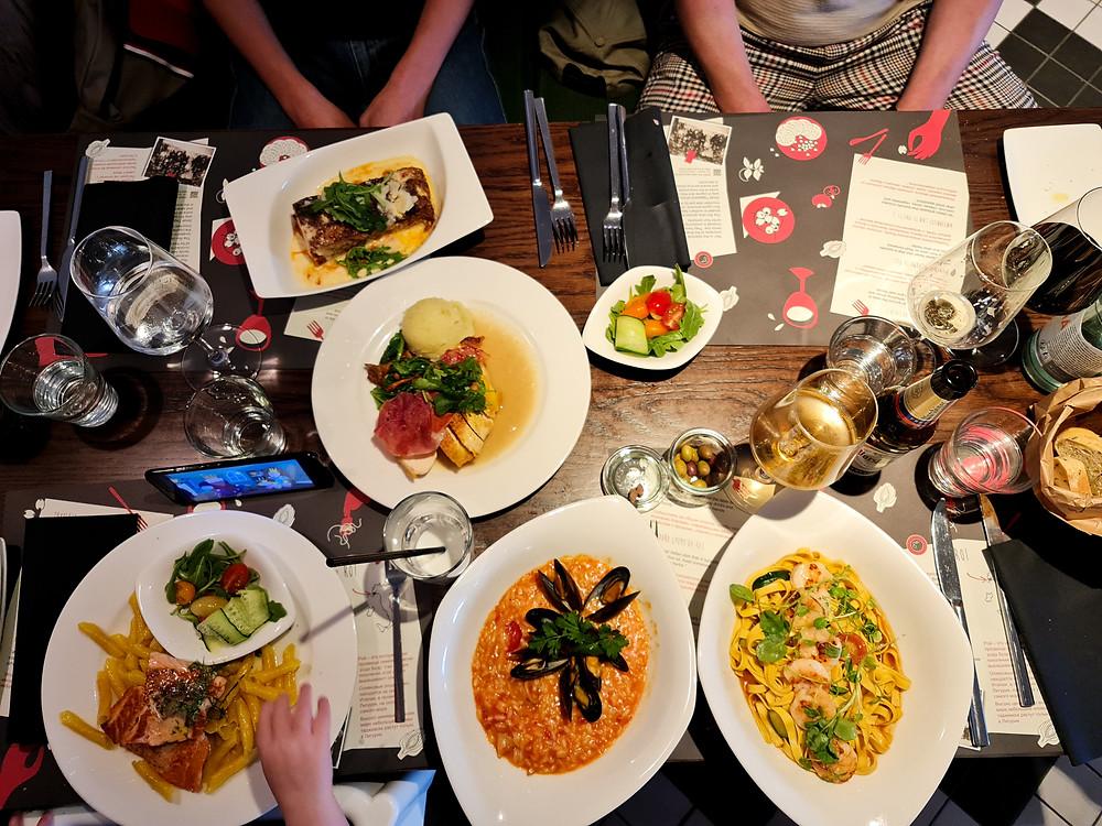 La Tavola -ravintola Silja Line