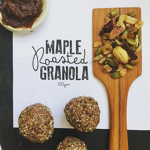 320gm Maple Roasted Granola ~ Vegan, Paleo & Gluten Free