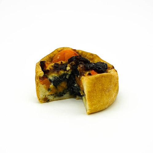 Roast Vegetable and Caramelised Onion Croustade