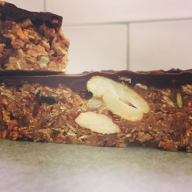 Chocolate & Granola? Yes please!!