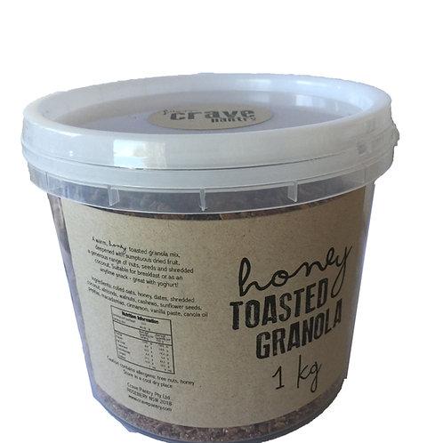1kg Honey Toasted Granola Tub