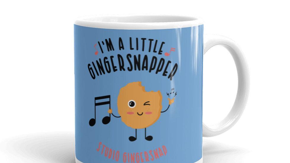 """I'm a Little Gingersnapper"" Mug"
